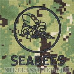 Naval Construction Battalion (Seabee)[NWU Type3(AOR2)/パッチ(ポケット)]の画像