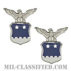 アメリカ合衆国空軍少将補佐官(Aide to the Major General)[カラー/バッジ/ペア(2個1組)]の画像
