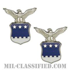 アメリカ合衆国空軍中将補佐官(Aide to the Lieutenant General)[カラー/バッジ/ペア(2個1組)]の画像