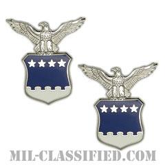 アメリカ合衆国空軍大将補佐官(Aide to the General)[カラー/バッジ/ペア(2個1組)]の画像