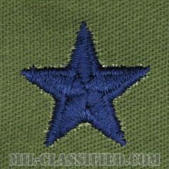 准将(Brigadier General (BG))[サブデュード/空軍階級章/パッチ/ペア(2枚1組)]の画像