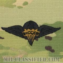 パラシュート整備士 (パラシュートリガー)(Parachute Rigger Badge)[OCP/パッチ]の画像