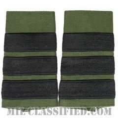 仮想敵部隊(対抗部隊)階級章(Opposing Force (OPFOR), Sergeant Major)[サブデュード/ショルダー階級章/ペア(2枚1組)]の画像