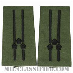 仮想敵部隊(対抗部隊)階級章(Opposing Force (OPFOR), Senior Lieutenant)[サブデュード/ショルダー階級章/ペア(2枚1組)]画像