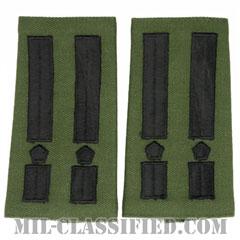 仮想敵部隊(対抗部隊)階級章(Opposing Force (OPFOR), Lieutenant Colonel)[サブデュード/ショルダー階級章/ペア(2枚1組)]の画像
