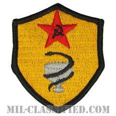 仮想敵部隊(対抗部隊)医療部隊章/医療優秀章(Opposing Force (OPFOR), Medical Excellence Award)[カラー/メロウエッジ/パッチ]の画像