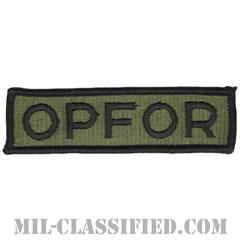 仮想敵部隊(対抗部隊)ネーム章(Opposing Force (OPFOR), Name)[サブデュード/メロウエッジ/パッチ]の画像