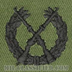 仮想敵部隊(対抗部隊)歩兵科章(Opposing Force (OPFOR), Infantry Branch Insignia)[サブデュード/兵科章/パッチ/ペア(2枚1組)]画像