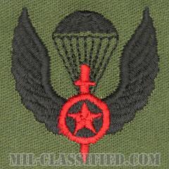 仮想敵部隊(対抗部隊)空挺章(Opposing Force (OPFOR), Parachutist Badge)[サブデュード/パッチ]画像