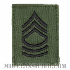 曹長(Master Sergeant (MSG))[サブデュード/階級章/ベルクロ付パッチ]の画像