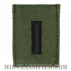 中尉(First Lieutenant (1LT))[サブデュード/階級章/ベルクロ付パッチ]の画像
