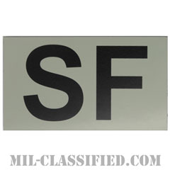 SF(空軍警備隊)(Security Forces)[IR(赤外線)反射素材/3.5インチ幅/ベルクロ付パッチ]の画像