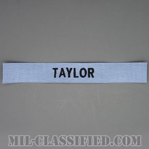 TAYLOR [シャンブレーシャツ用/海軍ネームテープ/生地テープパッチ]の画像