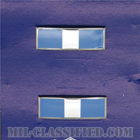 准尉長 (CW3)(Chief Warrant Officer 3)[カラー/空軍階級章(1960s-1970s)/バッジ/ペア(2個1組)/1点物]の画像