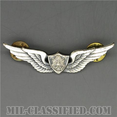 航空機搭乗員章 (ベーシック・エアクルー)(Army Aviation (Aircrew), Basic)[カラー/1960s/燻し銀(銀張り・Silver Filled)/バッジ/中古1点物]の画像