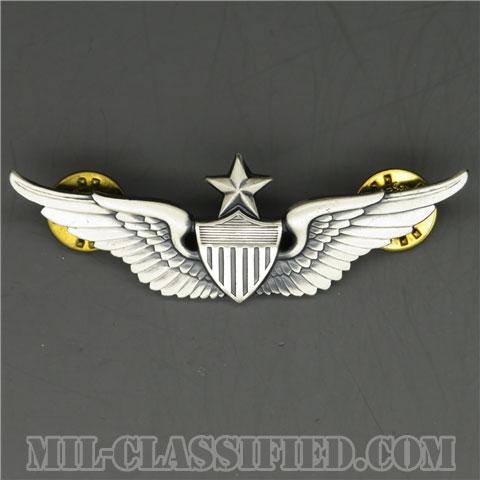 飛行士章 (シニア・パイロット)(Army Aviator (Pilot), Senior)[カラー/1960s/燻し銀(銀張り・Silver Filled)/バッジ/中古1点物]の画像