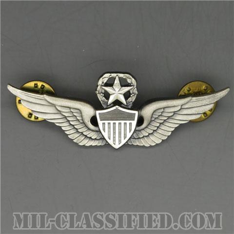 飛行士章 (マスター・パイロット)(Army Aviator (Pilot), Master)[カラー/1960s/燻し銀(銀張り・Silver Filled)/バッジ/中古1点物]の画像