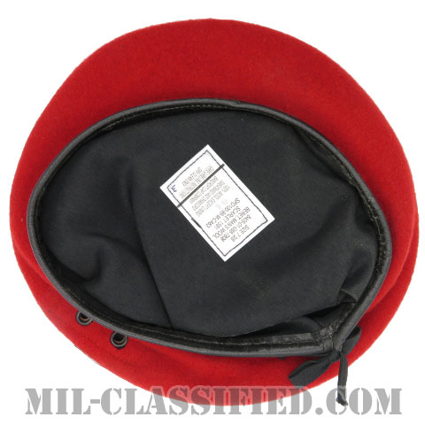 スカーレットベレー(Scarlet Wool Beret)[ベレー帽/空気穴(アイレット)付]の画像