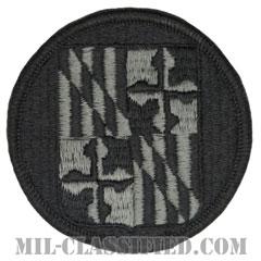 メリーランド州 州兵(National Guard, Maryland)[UCP(ACU)/メロウエッジ/ベルクロ付パッチ]の画像