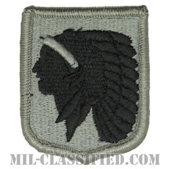 オクラホマ州 州兵(National Guard, Oklahoma)[UCP(ACU)/メロウエッジ/ベルクロ付パッチ]の画像