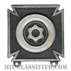 運転・整備技術章 (ドライバー・メカニック)(Driver and Mechanic Badge)[カラー/燻し銀/バッジ]の画像