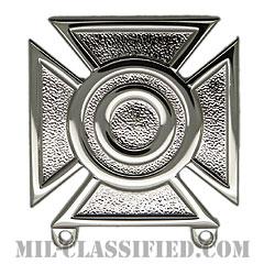 射撃技術章 (シャープシューター)(Marksmanship Badge, Sharpshooter)[カラー/鏡面仕上げ/バッジ]の画像