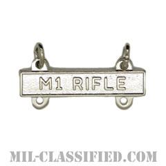 射撃技術章用バー (M1ライフル)(Qualification Bar, M1 RIFLE)[カラー/鏡面仕上げ/バッジ]の画像
