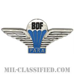 ボツワナ共和国軍空挺章(Foreign Parachutist Badge, Botswana)[カラー/バッジ]の画像