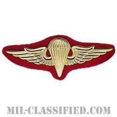 クウェート国軍空挺章(Foreign Parachutist Badge, Kuwait)[カラー/バッジ]の画像