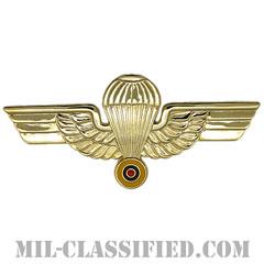 エクアドル共和国軍空挺章(Foreign Parachutist Badge, Ecuador)[カラー/バッジ]の画像