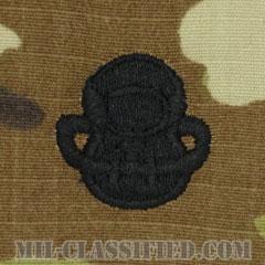 スキューバ員章(Diver Badge, Scuba)[OCP/パッチ]の画像