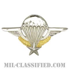 フランス共和国軍空挺章(Foreign Parachutist Badge, France)[カラー/バッジ]の画像