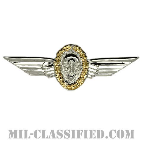 ドイツ連邦共和国 (西ドイツ) 軍空挺章 (ゴールド)(Foreign Parachutist Badge, West Germany, Gold)[カラー/バッジ]の画像