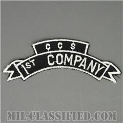 1st Company, Command & Control South (CCS), MACV-SOG [カラー/カットエッジ/パッチ/レプリカ]の画像