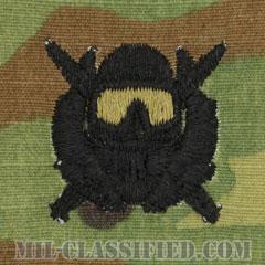 特殊作戦潜水員章(Diver Badge, Special Operations Diver)[OCP/パッチ]の画像
