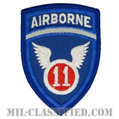 第11空挺師団(11th Airborne Division)[カラー/メロウエッジ/パッチ]の画像