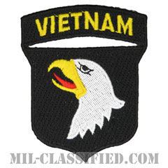 第101空挺師団(ベトナム)(101st Airborne Division (Vietnam))[カラー/カットエッジ/パッチ]の画像