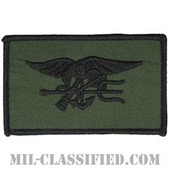 海軍特殊戦章(シールズ)(Special Warfare (SEAL))[カラー/メロウエッジ/パッチ]の画像