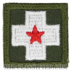 仮想敵部隊(対抗部隊)メディック章(Opposing Force (OPFOR), Lifesaver (Medic) Badge)[カラー/パッチ]の画像