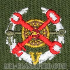 仮想敵部隊(対抗部隊)サポート章(レッド)(Opposing Force (OPFOR), Support Award)[カラー/パッチ]の画像