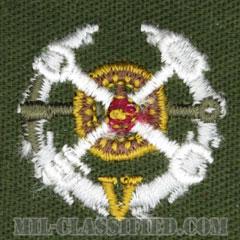 仮想敵部隊(対抗部隊)サポート章(ホワイト)(Opposing Force (OPFOR), Support Award)[カラー/パッチ]の画像