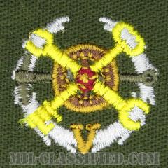 仮想敵部隊(対抗部隊)サポート章(イエロー)(Opposing Force (OPFOR), Support Award)[カラー/パッチ]の画像
