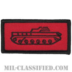 仮想敵部隊(対抗部隊)ドライバー章(ブラック)(Opposing Force (OPFOR), Driver Badge)[カラー/パッチ]の画像