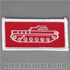 仮想敵部隊(対抗部隊)ドライバー章(シルバー)(Opposing Force (OPFOR), Driver Badge)[カラー/パッチ]の画像