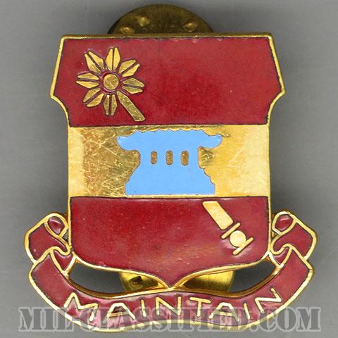 第703支援大隊(703rd Support Battalion)[カラー/クレスト(Crest・DUI・DI)バッジ/1950s/中古1点物]の画像