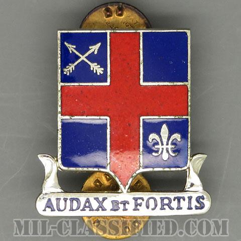 第74歩兵分遣隊(74th Infantry Detachment)[カラー/クレスト(Crest・DUI・DI)バッジ/1960s/中古1点物]の画像