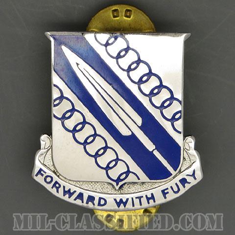 第512機甲歩兵大隊(512th Armored Infantry Battalion)[カラー/クレスト(Crest・DUI・DI)バッジ/1950s/中古1点物]の画像