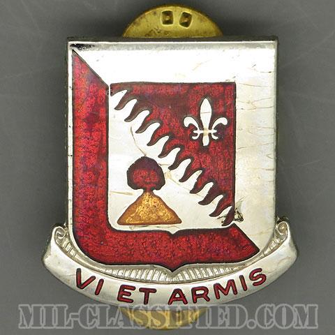 第32工兵大隊(32nd Engineer Battalion)[カラー/クレスト(Crest・DUI・DI)バッジ/1950s/中古1点物]の画像
