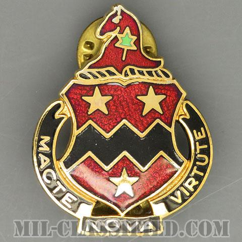 第16野戦砲兵連隊(16th Field Artillery Regiment)[カラー/クレスト(Crest・DUI・DI)バッジ/1960s/中古1点物]の画像