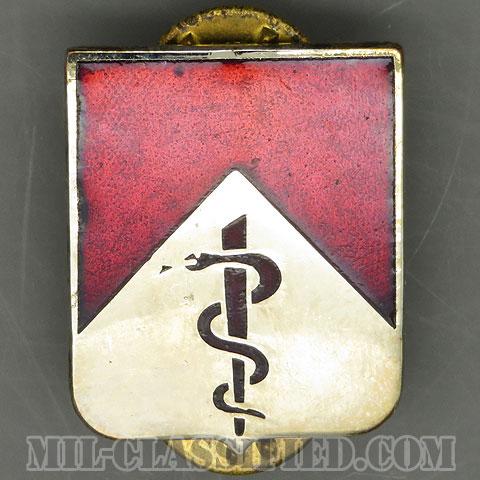 第47医療大隊(47th Medical Battalion)[カラー/クレスト(Crest・DUI・DI)バッジ/1960s/中古1点物]の画像